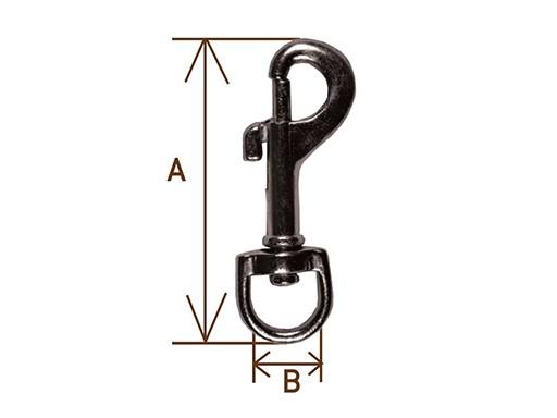 Карабин  I  А=54мм, В=12мм
